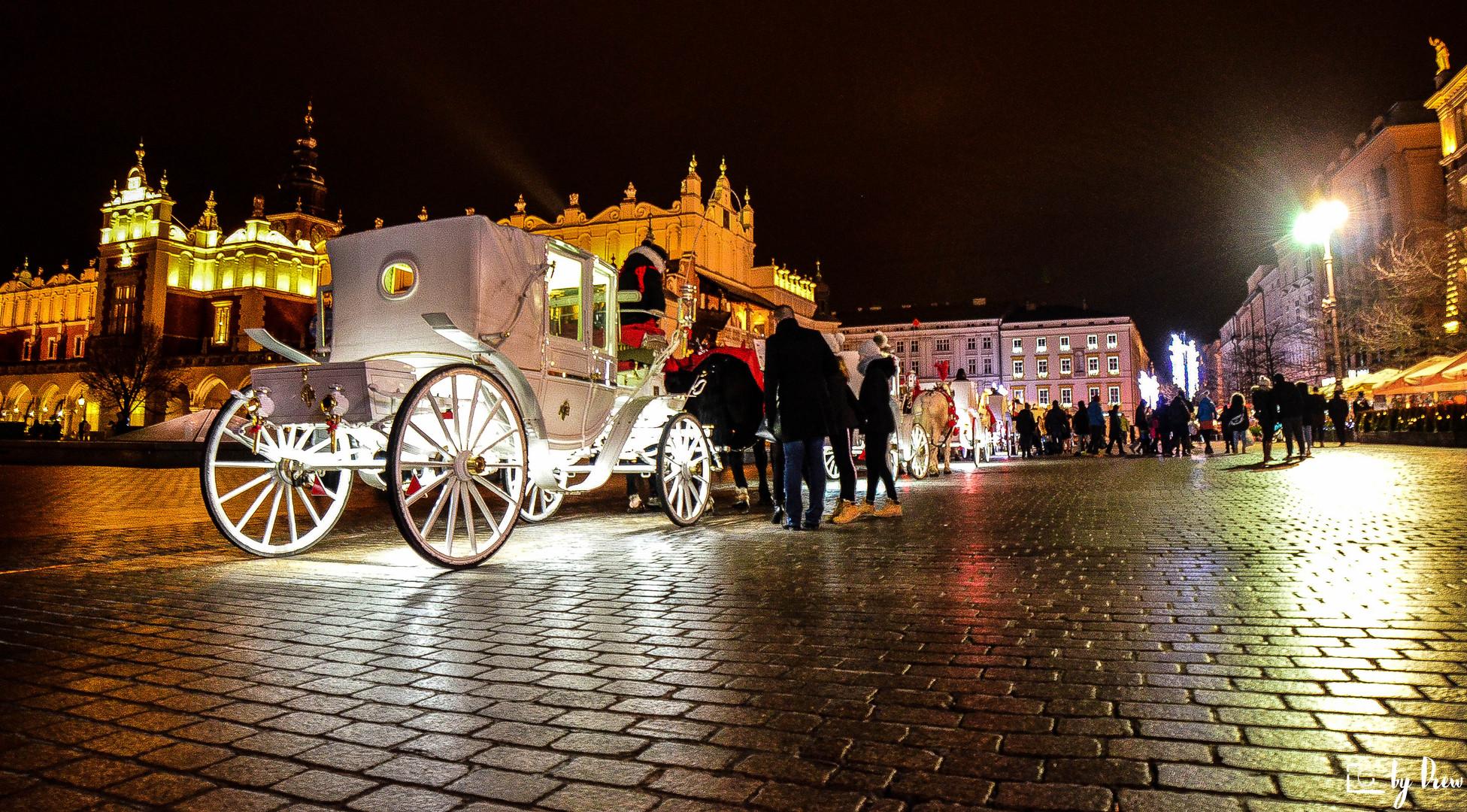 Krakow nightlights