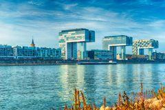 Kranhäuser in Köln am Rhein