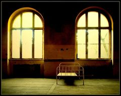 Krankenhaus-Einzelbettzimmer