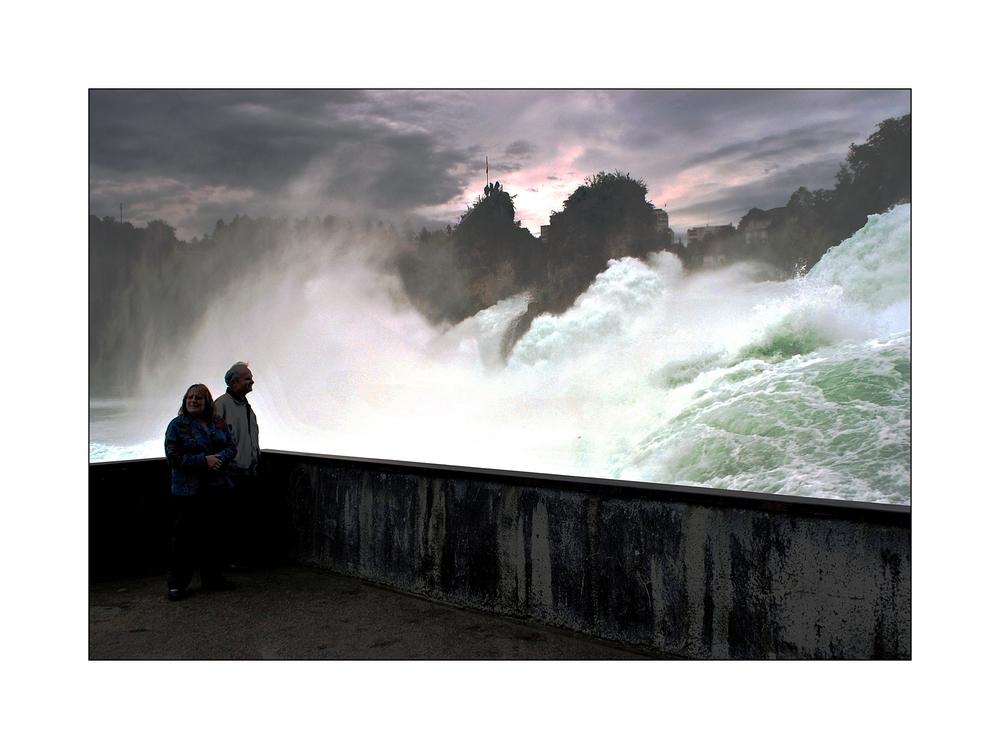 Krasser Fall von einem Wasserfall...