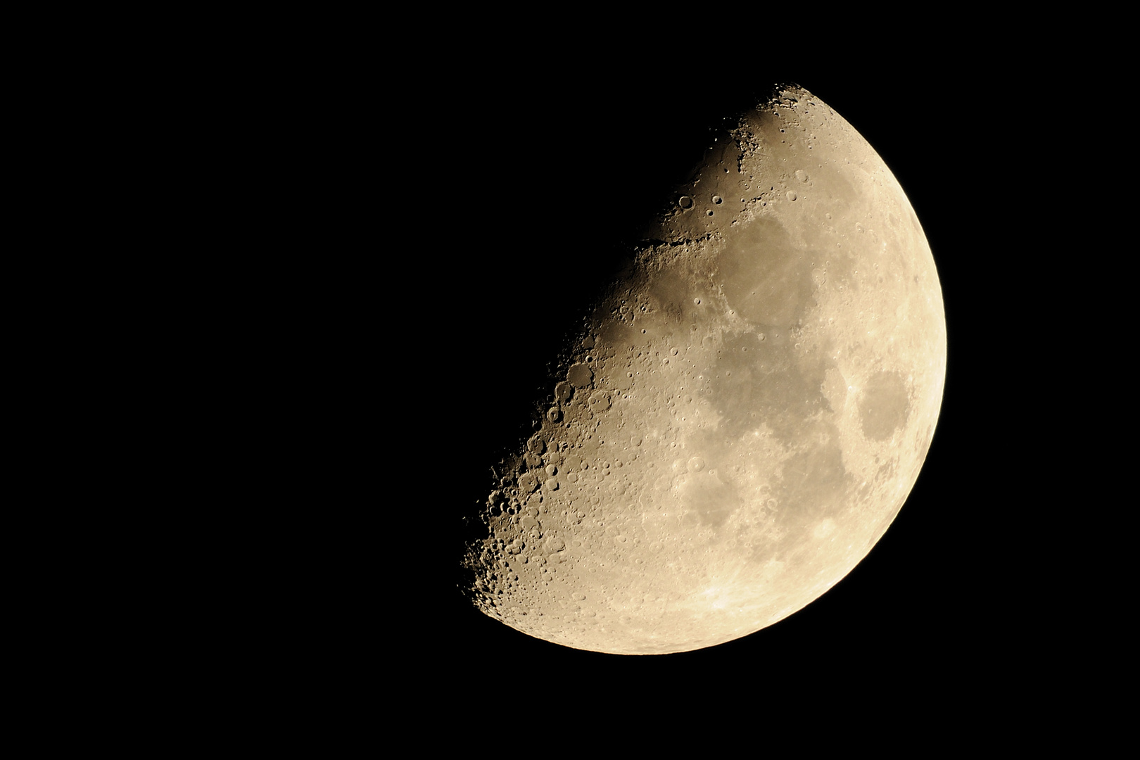 Krater auf dem Mond