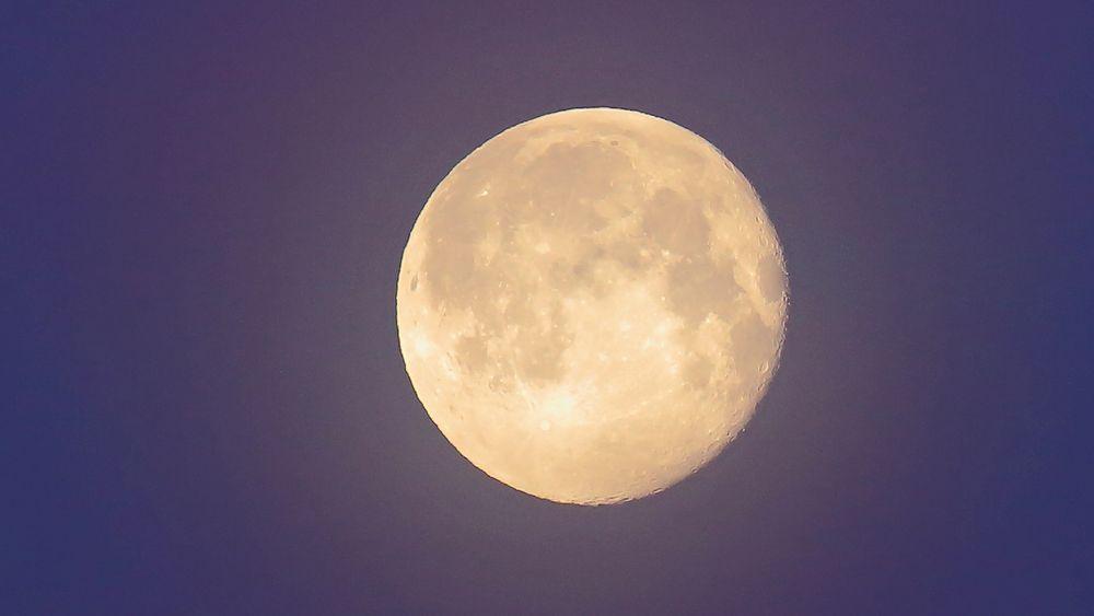 """Krater und ein wenig Struktur hatte ich als """"Mondlaie"""" schon lange nicht mehr..."""