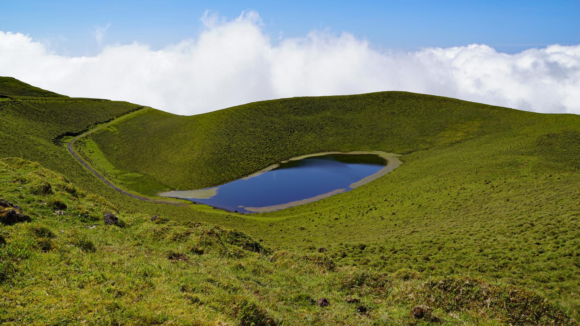 Kraterlandschaft auf Pico
