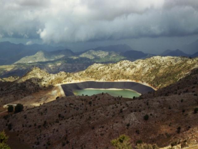 Kratersee auf Kreta