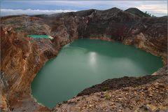 kraterseen am kelimutu