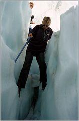 Kraxeln auf dem Gletscher (2)