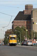Krefeld - Endhaltestelle Rheinhafen
