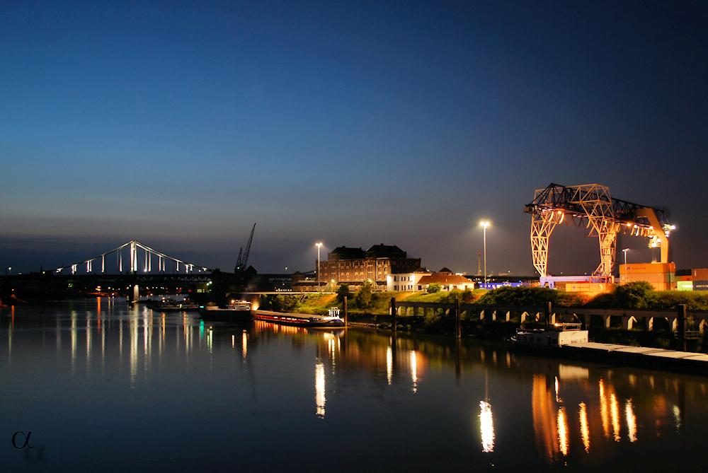 Krefeld - Rheinhafen