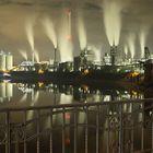 Krefelder Hafen bei Nacht, DRI
