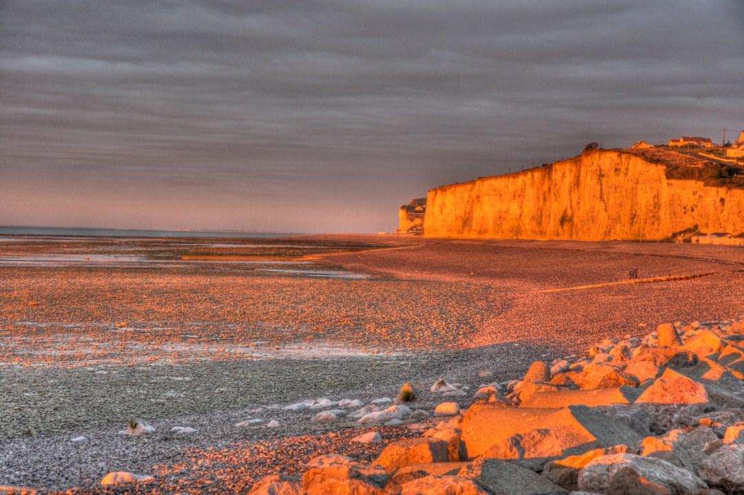 Kreidefelsen in der Normandie