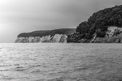 Kreideküste auf Rügen sw