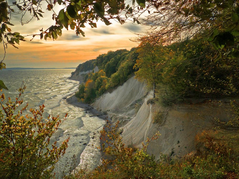 Kreideküste bei Sassnitz...