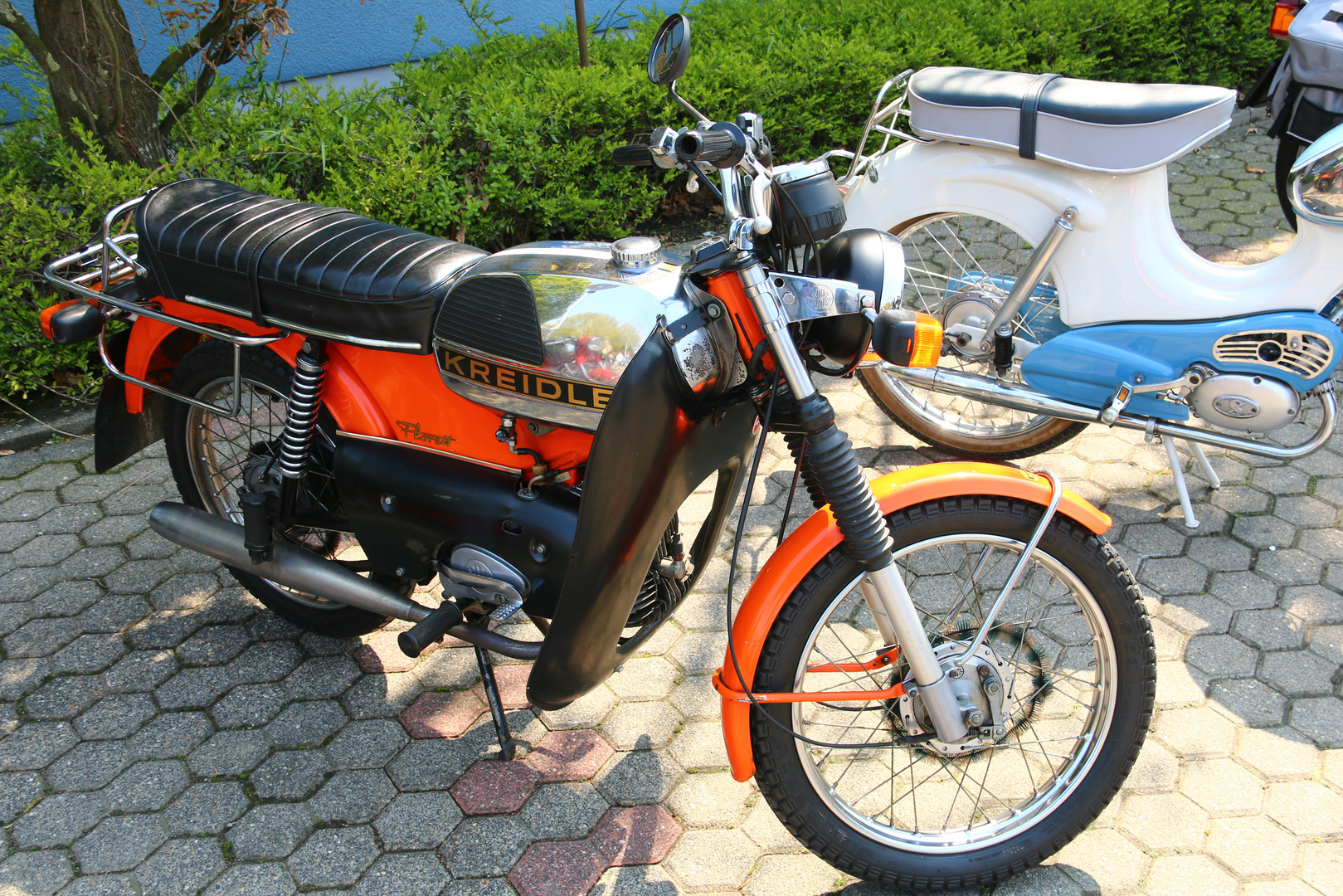 kreidler florett foto bild oldtimer moped verkehr. Black Bedroom Furniture Sets. Home Design Ideas