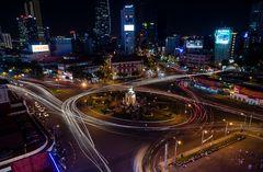 Kreisverkehr am Ben Thanh Markt