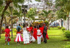 Kreolische Hochzeitsgesellschaft