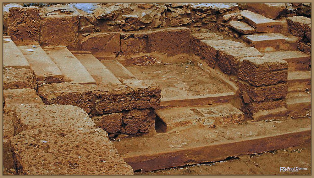 Kreta - Ausgrabung der Palastanlage Malia