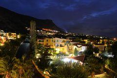 Kreta, Dorf bei Nacht
