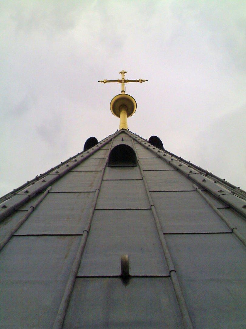 Kreutz auf dem Hohen Dach des Kölner Dom
