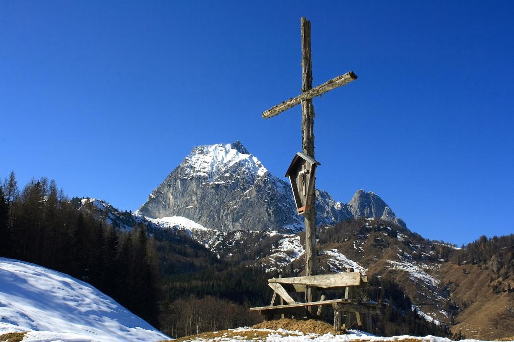 Kreuz an der Metzgeralm