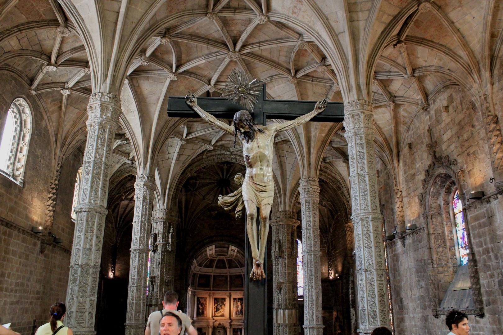 Kreuz inm Kloster Hieronimus Lissabon