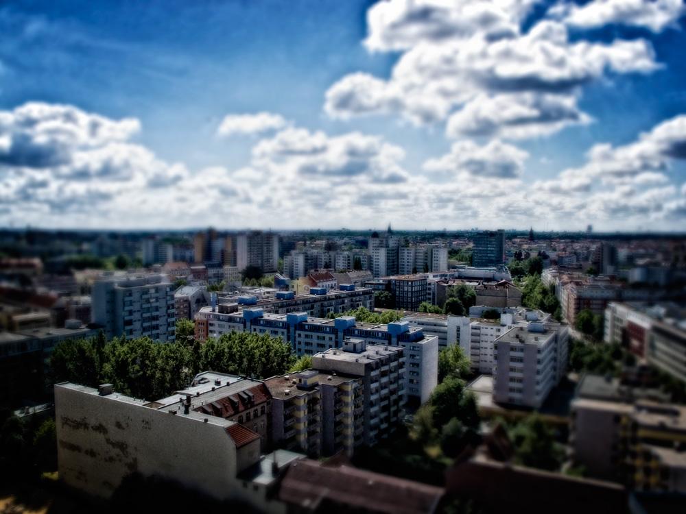 Kreuzberg von oben...