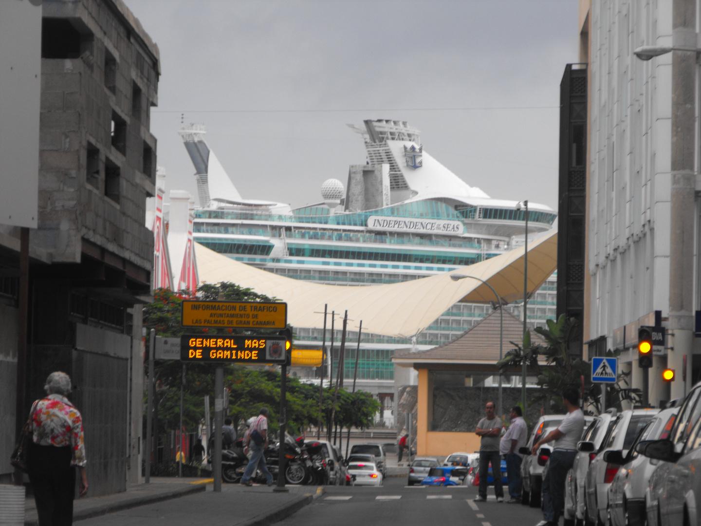 Kreuzfahrer in las Palmas
