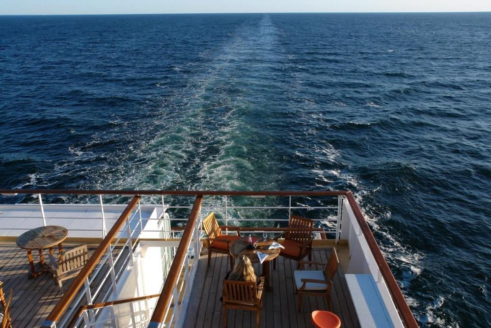 Kreuzfahrt Achterwasser