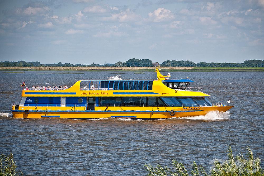 Kreuzfahrt auf der Elbe...