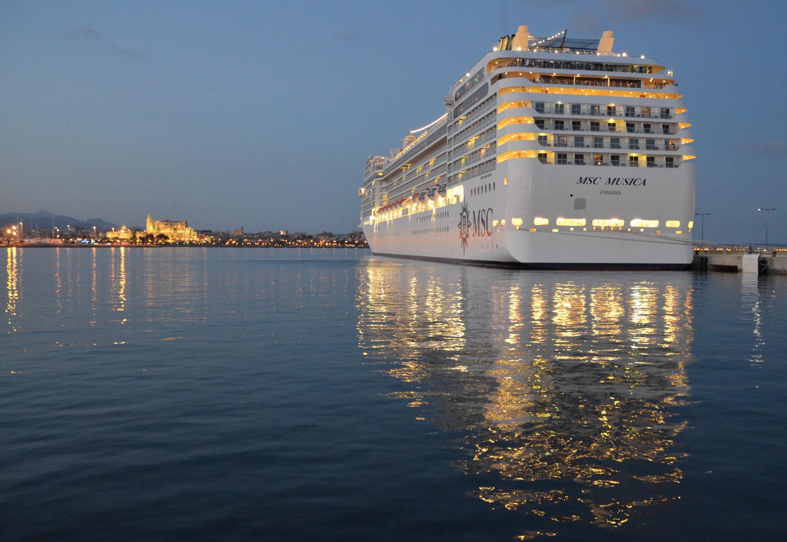 Kreuzfahrt im Mittelmeer