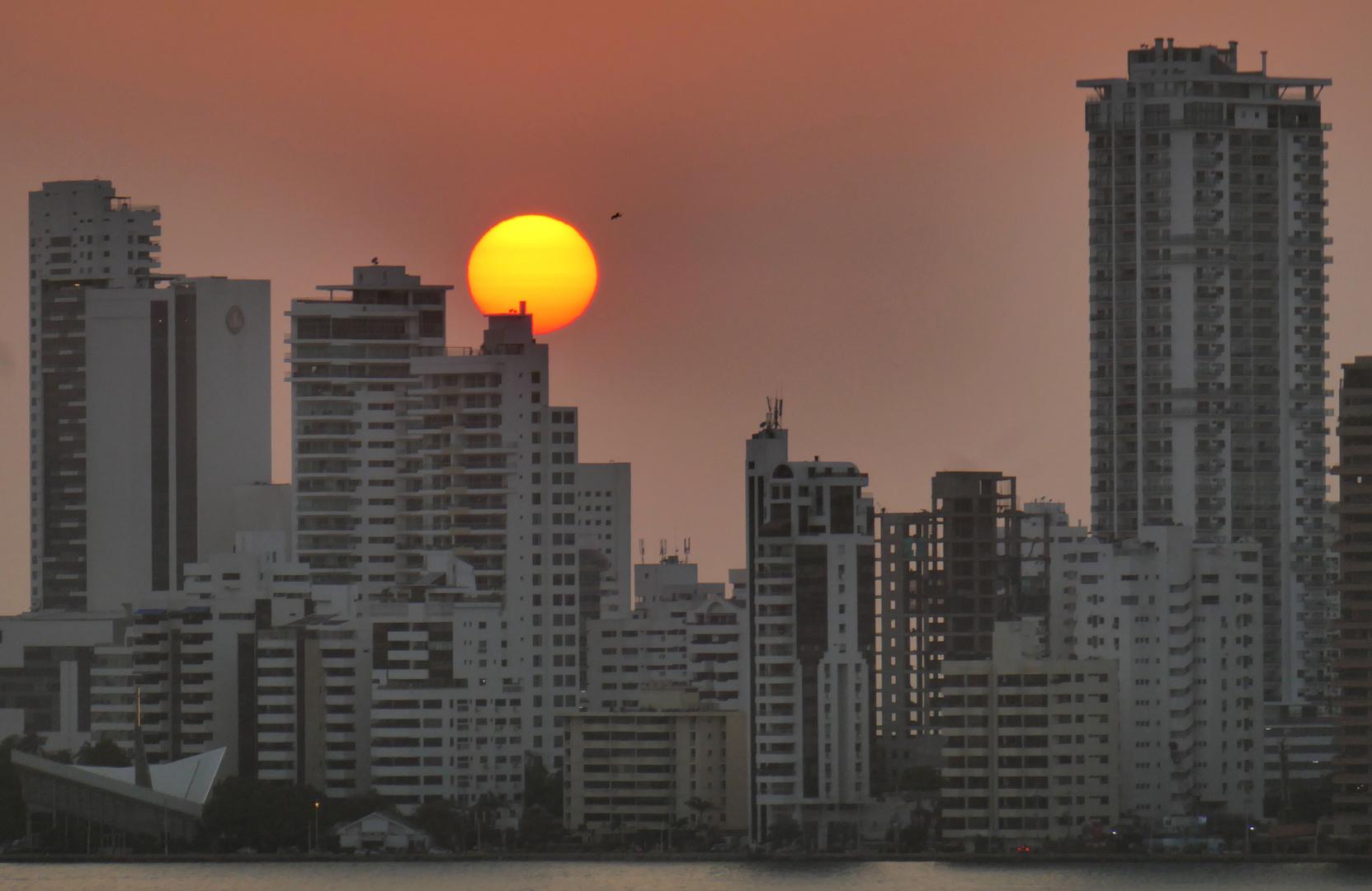 Kreuzfahrt_Kolumbien-Cartagena-Sonnenuntergang zum Dritten