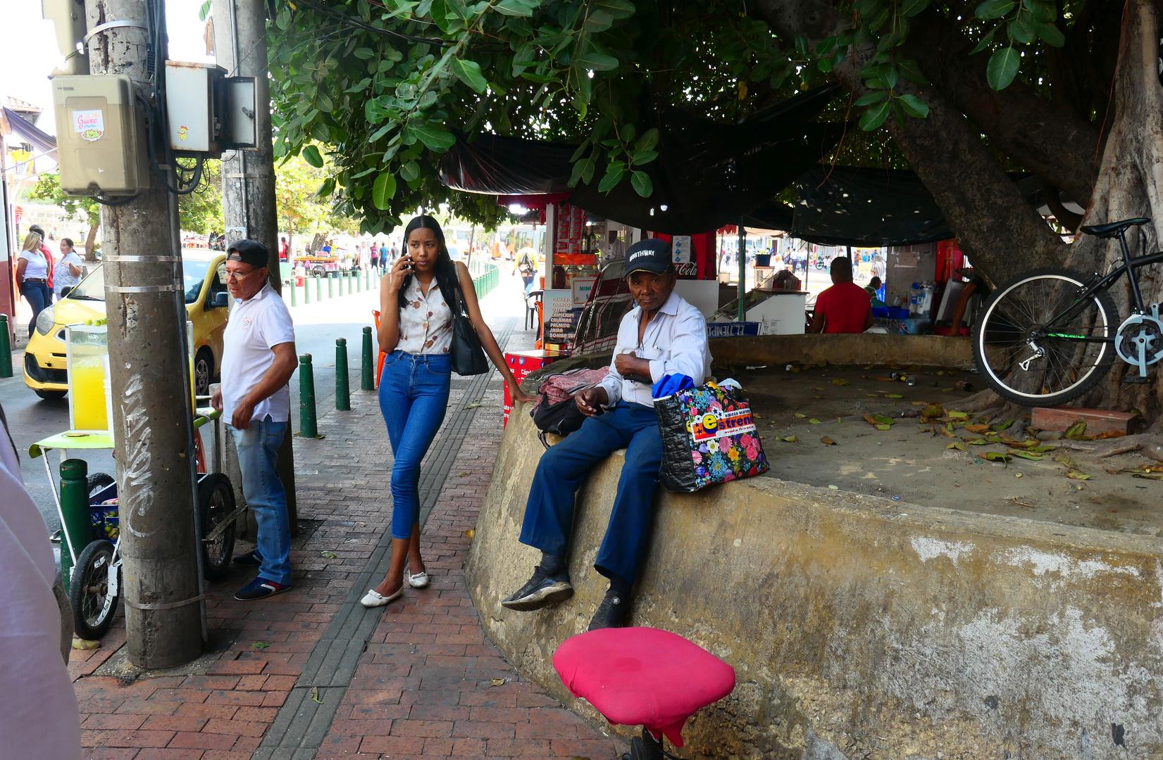 Kreuzfahrt_Kolumbien-Cartagena Strassenszene