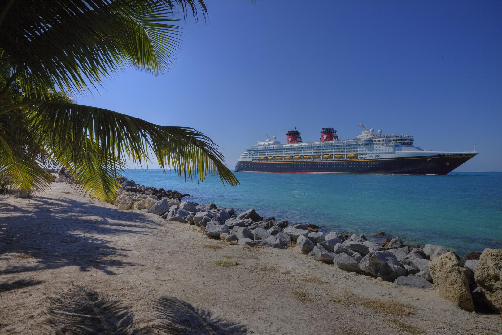 Kreuzfahrtschiff vor Key West