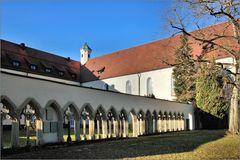 Kreuzgang am Kloster Kirchberg