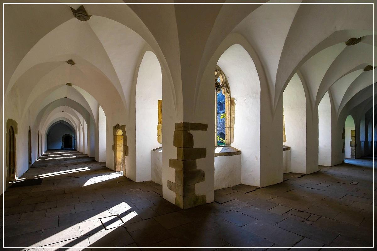 Kreuzgang im Kloster Möllenbeck