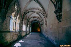 Kreuzgang im Kloster Mosteiro Real de Alcobaça