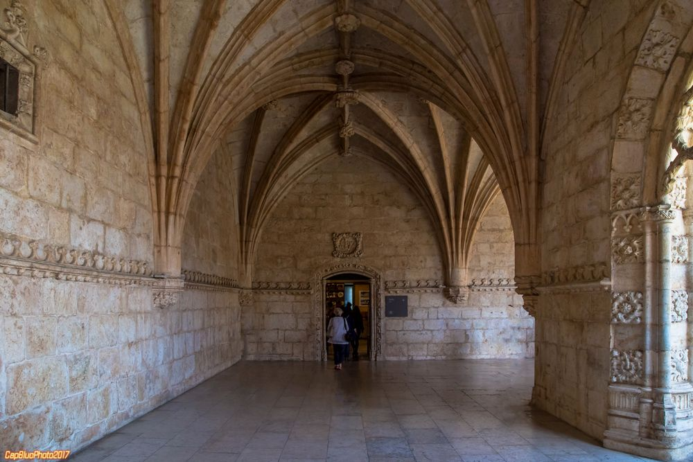 Kreuzgang im Mosteiro dos Jeronismos