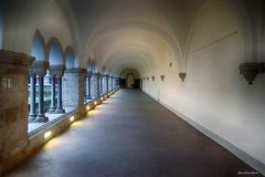 Kreuzgang in der Abtei Brauweiler