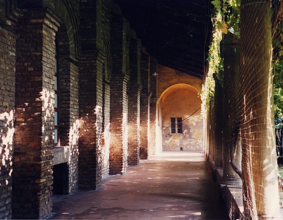 Kreuzgang in Ravenna