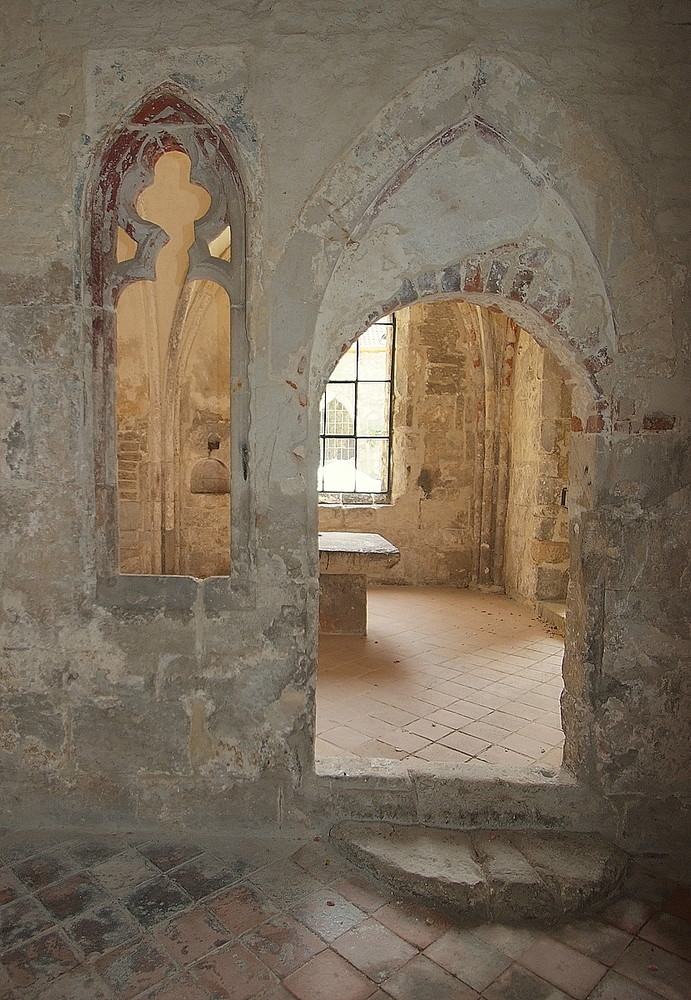 Kreuzgang Kloster Michaelsstein im Harz III