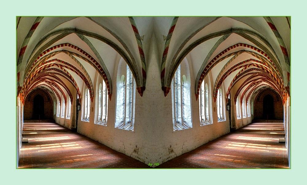 Kreuzgang Ratzeburger Dom