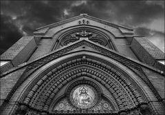 Backstein-Kirchen