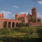 Kreuzritterburg in Kwidzyn (Marienwerder) - Polen