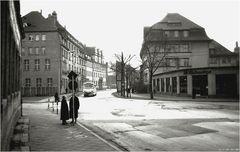 Kreuzung heutiger Juri-Gagarin-Ring / Trommsdorffstraße