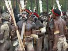 Krieger in West Papua