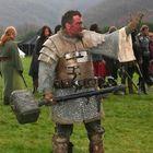 Krieger mit Hammer