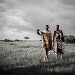 Krieger vor der Hochzeit