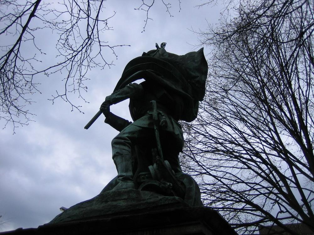 Kriegerdenkmal in Essen / 1864/1866/ 1870-71 pt.2