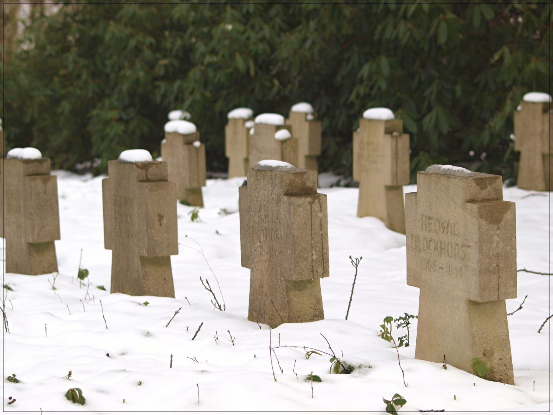 Kriegsgräber auf dem Südfriedhof.....