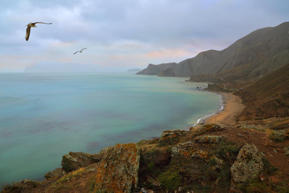 Krim, das Schwarze Meer, Russland