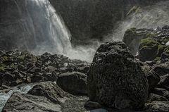 Krimmler Wasserfälle - am unteren Fall